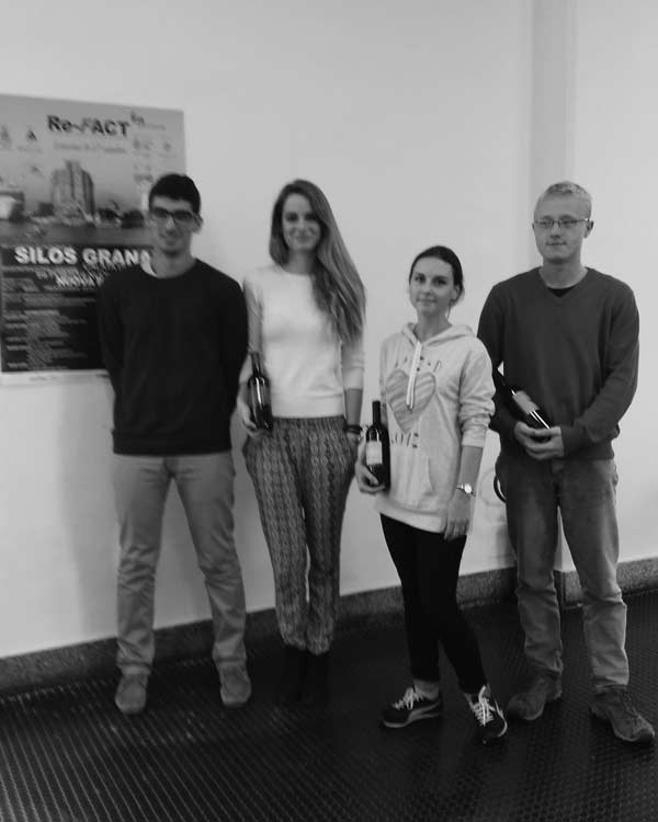 Mohamed Yassin, Amanda Maldonado Toro, Victoria Lukina, Filip Kinnert